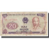 Billet, Viet Nam, 20 D<ox>ng, Undated (1985), KM:94a, TB - Vietnam