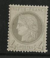 N° 52 Cote 500 € NEUF Avec Charnière * (MH) - 1871-1875 Ceres
