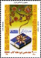 IRAN 2879 Coran, Livre, Oiseau - Islam