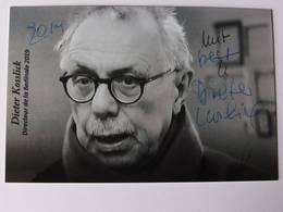 Dieter KOSSLICK - Signé / Hand Signed / Dédicace Authentique / Autographe - Cine