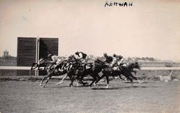 EGYPTE- ALEXANDRIE-Champ De Courses L'Arrivée Au Poteau De RAHWAN.Carte Photo Zachary's Press Agency 1935 - Horse Show