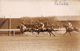 EGYPTE- ALEXANDRIE-Champ De Courses L'Arrivée Au Poteau De FAFNIR - Carte Photo 1934 - Horse Show