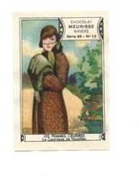 LA COMTESSE DE NOAILLES Les Femmes Célèbres Pub: Chocolat Meurisse TB 56 X 40 Mm Dos Blanc Parfait. - Andere