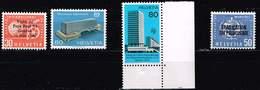 Schweiz 1962/74/73/69, Michel # WHO 35, BIT 104, UIT 10BIT 103 ** - Suisse