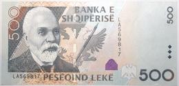 Albanie - 500 Leke - 2015 - PICK 72b - NEUF - Albania