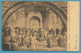 ROMA - Vaticano - Stanze Di Raffaello - Scuola D'Atene - Pintura & Cuadros