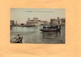 """G2905 - MARSEILLE - D13 - """"FERRY-BOAT"""" Faisant La Traversée Du Vieux Port - Marseilles"""