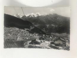 Carte Postale Ancienne  (1959) Verbier Télé-siège De Savoleyres - VS Valais