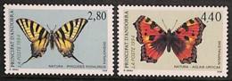 D - [813272]TB//**/Mnh-Andorre Français 1994 - N° 451/52,  Papillons, SC - Butterflies