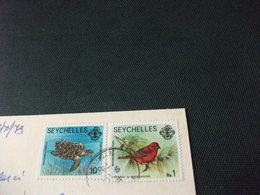 STORIA POSTALE  FRANCOBOLLO SEYCHELLES ANSE LAZIO PRASLIN - Seychelles