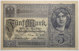 Allemagne - 5 Mark - 1917 - PICK 56b.1 - SPL - [ 2] 1871-1918 : Impero Tedesco
