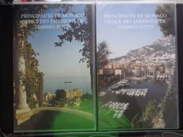 DANS POCHETTE DES EMISSIONS DE MONACO ANNEE COMPLETE 1995 ** - Monaco