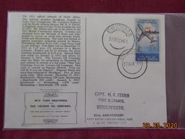 Carte D'Afrique Du Sud De 1961 (Poste Aérienne) - Afrique Du Sud (1961-...)