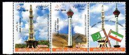 IRAN 2898/99 Pakistan, Minarets Mosquées, Drapeaux - Gezamelijke Uitgaven