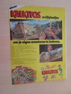 SPITIN20 Page De Revue Des Années 60/70 : PUBLICITE  DECALS KALKITOS  Format PAGE A4 - Loisirs Créatifs