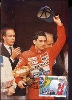 54976 Brasil, Maximum 1994   F1 Pilot  Ayrton Senna - Cars