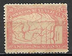 VENEZUELA.   1896.   Y&T N° 57 (*) - Venezuela