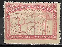 VENEZUELA.   1896.   Y&T N° 57 *. MLH. - Venezuela