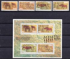 1975 -  S.W.A. -  Mi. Nr.  413/415 + BF 2 - NH - (AS2302.46) - Swaziland (1968-...)