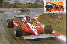 54979 Canada  Maximum 1997 Racing Car F1 Pilot Gilles Villeneuve, Ferrari 312 - Cars