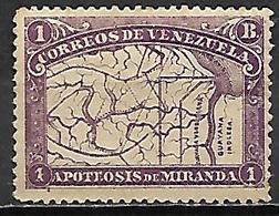 VENEZUELA.   1896.   Y&T N° 58 *. - Venezuela
