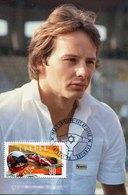54980 Canada  Maximum 1997 Racing Car F1 Pilot Gilles Villeneuve, Ferrari 312 - Cars