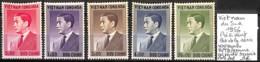 D - [838585]B/TB//**/Mnh-c:20e-Viêt-Nam 1956 - Président, Lot De La Série **/mnh (Gomme En Partie Brunie) - Vietnam