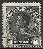 VENEZUELA.   1900.   Y&T N° 68 *.   Surcharge à Cheval - Venezuela