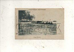 Haut-Oubangui (République Centrafricaine Ou Centrafrique) : Pirogue D'européens Sur Le Oubangui En 1910 (animé) PF. - Central African Republic