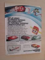 SPITIN20 Page De Revue Des Années 60/70 : PUBLICITE  CIRCUIT MATCHBOX   Format PAGE A4 - Circuits Automobiles