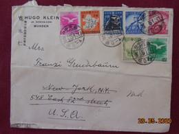Lettre De Chine De 1941 Pour Les USA (cachet D'arrivée Au Dos) - 1912-1949 Republic