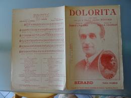 Partition Ancienne 3 Chansons Dolorita/ Miss Tain Guette/ Raquella  Paula Chabran Bérard Charlys Paul Senga - Partitions Musicales Anciennes