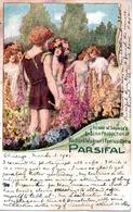 PARSIFAL  RICHARD WAGNERS  FESTIVAL OPERA  CHICAGO EN 1905 - Opera