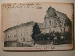 Lwow.Lemberg.C.K.Univerzytet.Nakl.Franciszek Bauer.1899.Poland.Ukraine. - Ukraine