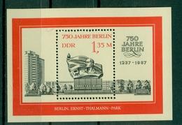 Allemagne - RDA 1987 - Y & T Feuillet N. 88 - Berlin (Michel N. 89) - [6] Oost-Duitsland