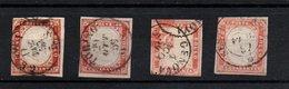IV: 40 Cent. X Quattro Esemplari Usati OTTIMA IIa Scelta Alto Valore (€ 1.550) - Sardaigne