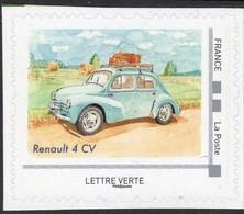 France 2019  -  Renault 4CV   -   1v  Timbre Neuf/Mint/MNH - Voitures