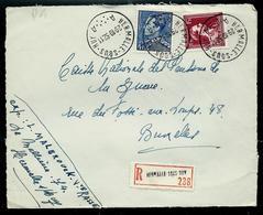 Doc. De  HERMALLE - SOUS - HUY  - A A - Du 29/10/52 En Rec. - Poststempel
