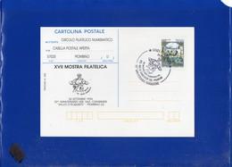 """##(DAN205)-1994 Piombino-30° Ass.Naz.Carabinieri""""Salvo D'Acquisto""""annullo Speciale Su Cartolina Postale Repiquage - 6. 1946-.. Repubblica"""