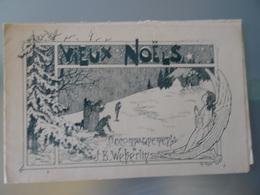 Partition Ancienne 3 Chansons Vieux Noels/ancien Noel Touraine/Vieux Noel Dauphiné/ Noel Du Poitou - Partitions Musicales Anciennes