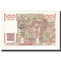 France, 100 Francs, Jeune Paysan, 1952, D AMBRIERES, GARGAM, 1952-04-03, SPL - 1871-1952 Circulated During XXth