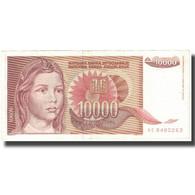 Billet, Yougoslavie, 10,000 Dinara, 1992, KM:116b, TTB - Joegoslavië