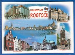 Deutschland; Rostock; Multibildkarte - Rostock