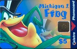 AUSTRALIE  -  TELSTRA  -  Michigan J. Frog  -  $5 - Australia