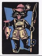 CP PIERRE PROBST Personnage (Chat Pêche Poisson) - Bandes Dessinées