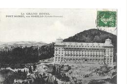FONT ROMEU   PAR ODEILLO   LE GRAND HOTEL   GROS PLAN    DEPT 66 - France
