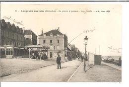 DEP. 14 LANGRUNE-SUR-MER N°17 LA PIERRE A POISSONS - LES HOTELS Circulée - Autres Communes