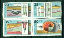 Allemagne - RDA 1980 - Y & T N. 2216/19 - Géophysique (Michel N. 2557/60) - [6] Oost-Duitsland