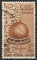 YEMEN    -   1954.   Union Postale Arabe.  Oblitéré. - Yemen