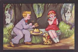 CPA Allumettes Matches Circulé Margret Boriss - Niños